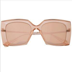 NEW, Chanel, Oversized square frame sunglasses.